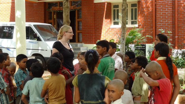 Volunteer in Bangalore South India
