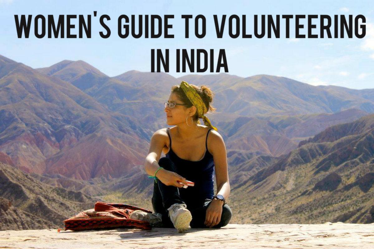 Guide to women volunteering