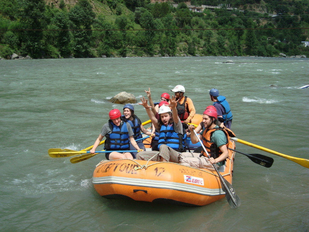 River rafting at palampur