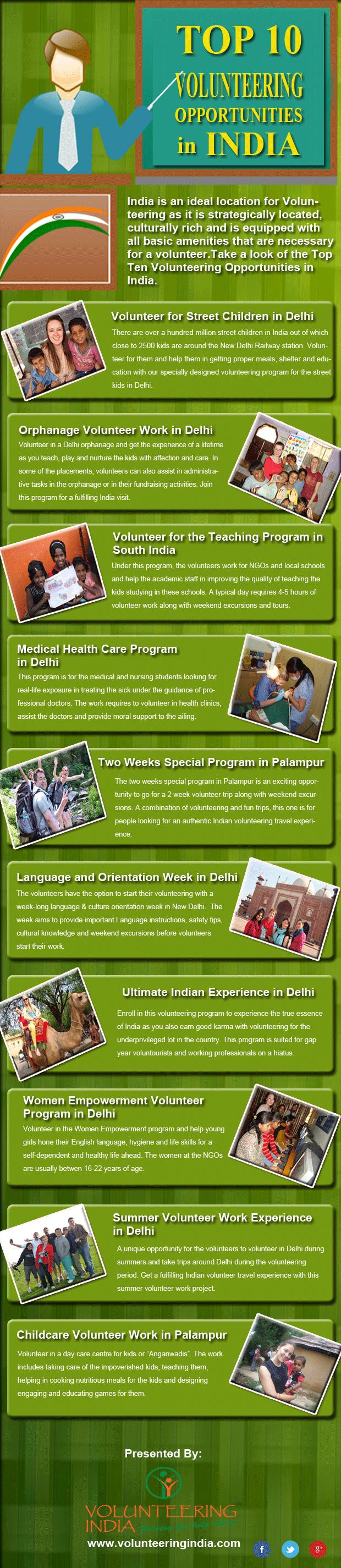 Volunteering Opportunities in India with VI