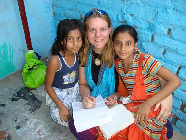 Childcare volunteer program in India