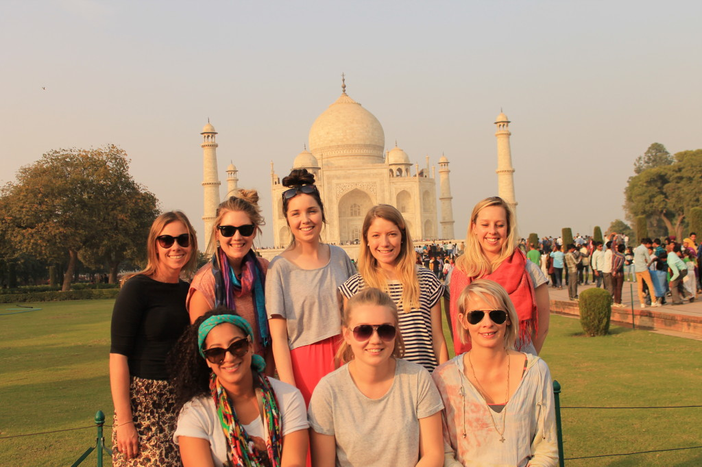 Tajmahal trip with Volunteering Solutions