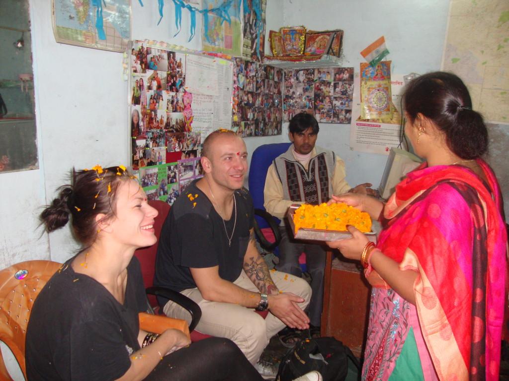 volunteering in Delhi