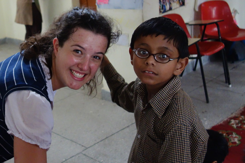 work with disabled children in India