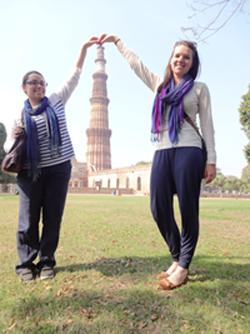 Dehli-tour-while-volunteering-in-India