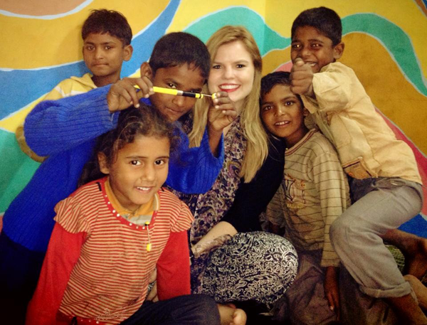 JordanaTrueman-while-volunteering-in-India