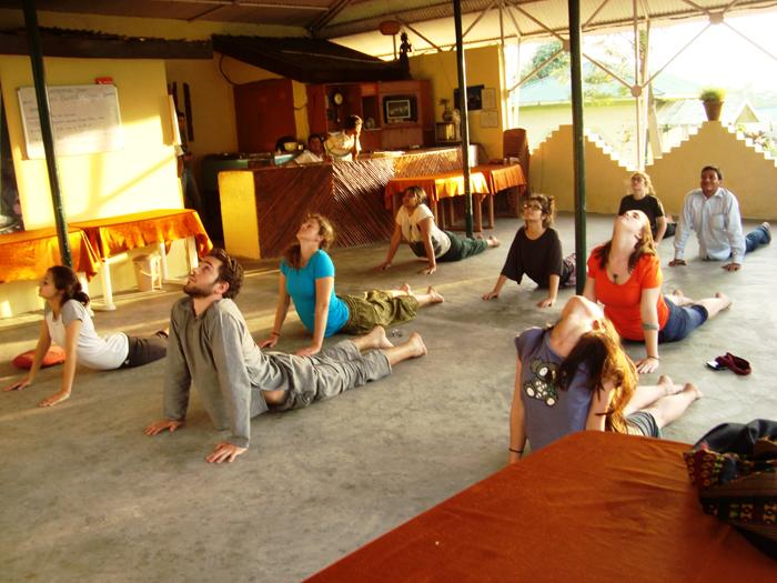 Yoga-by-volunteers-in-Delhi-India