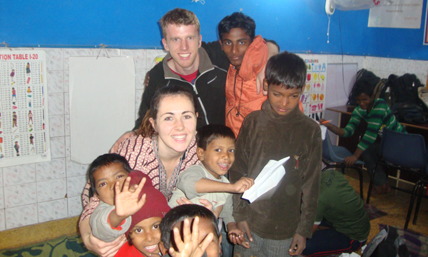 childcare-India-volunteer