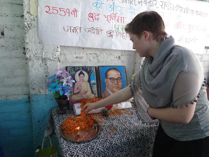 volunteering in-India
