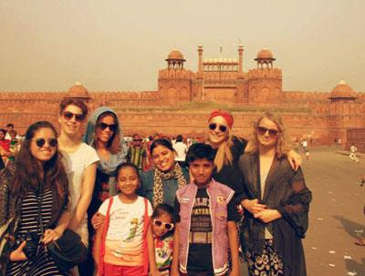 Volunteer in Delhi