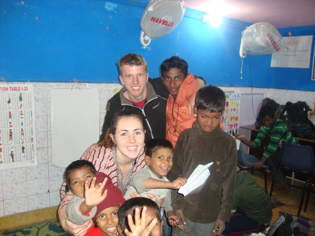 childcare India volunteer