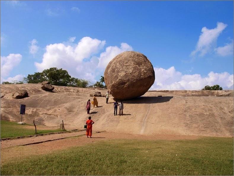 balancing rock tamilnadu India