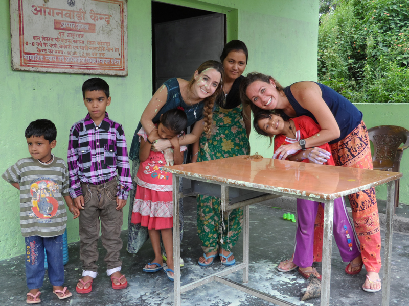 volunteering in India- palampur