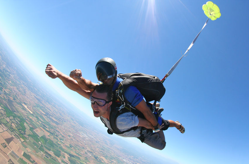 Sky Diving in india