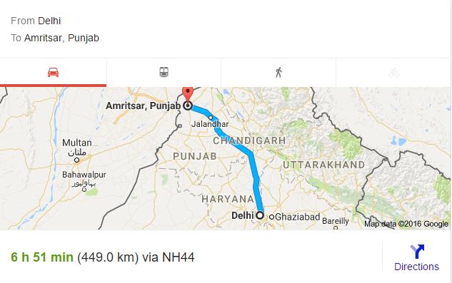 delhi-to-amritsar