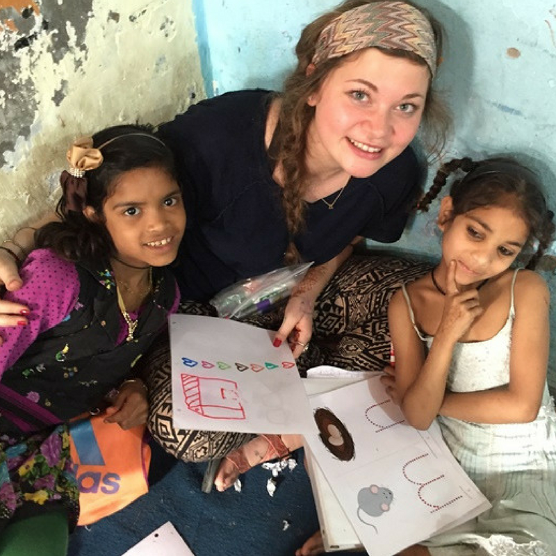 Street Children Volunteer Program in India