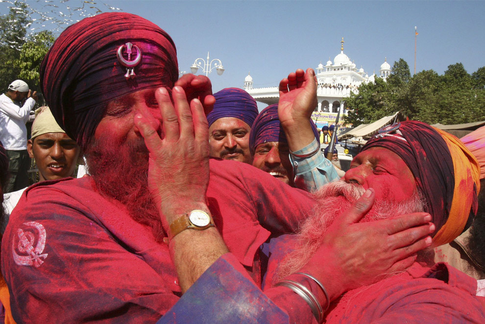 Warrior Holi in Anandpur Sahib, Punjab