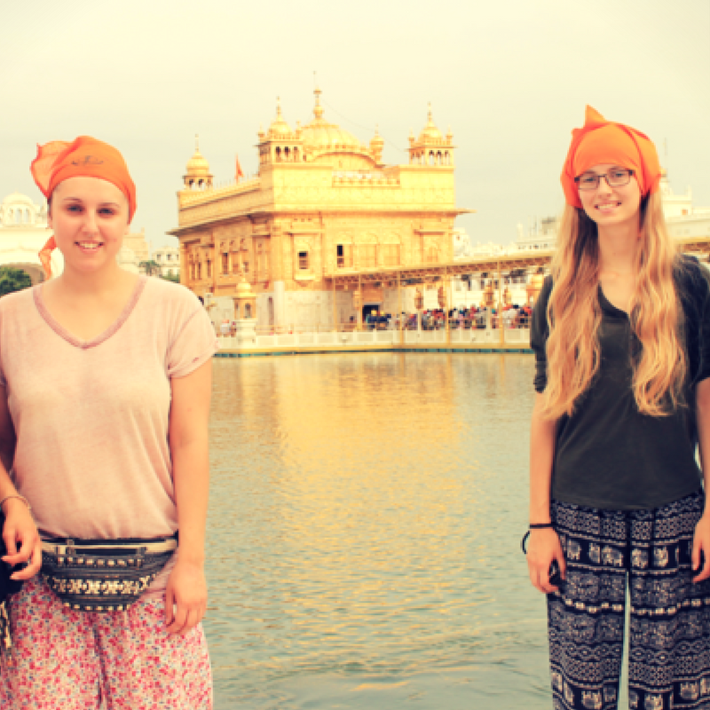 volunteering experiences in India