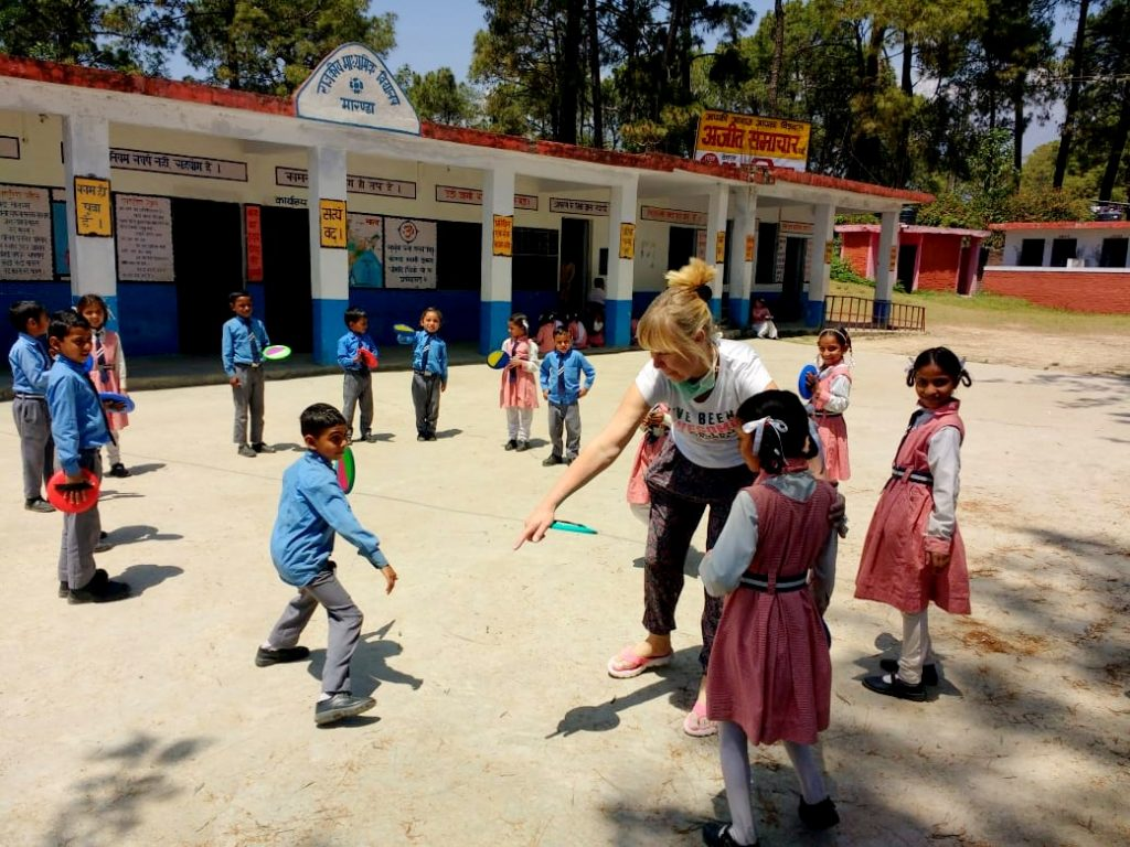 volunteer work in India