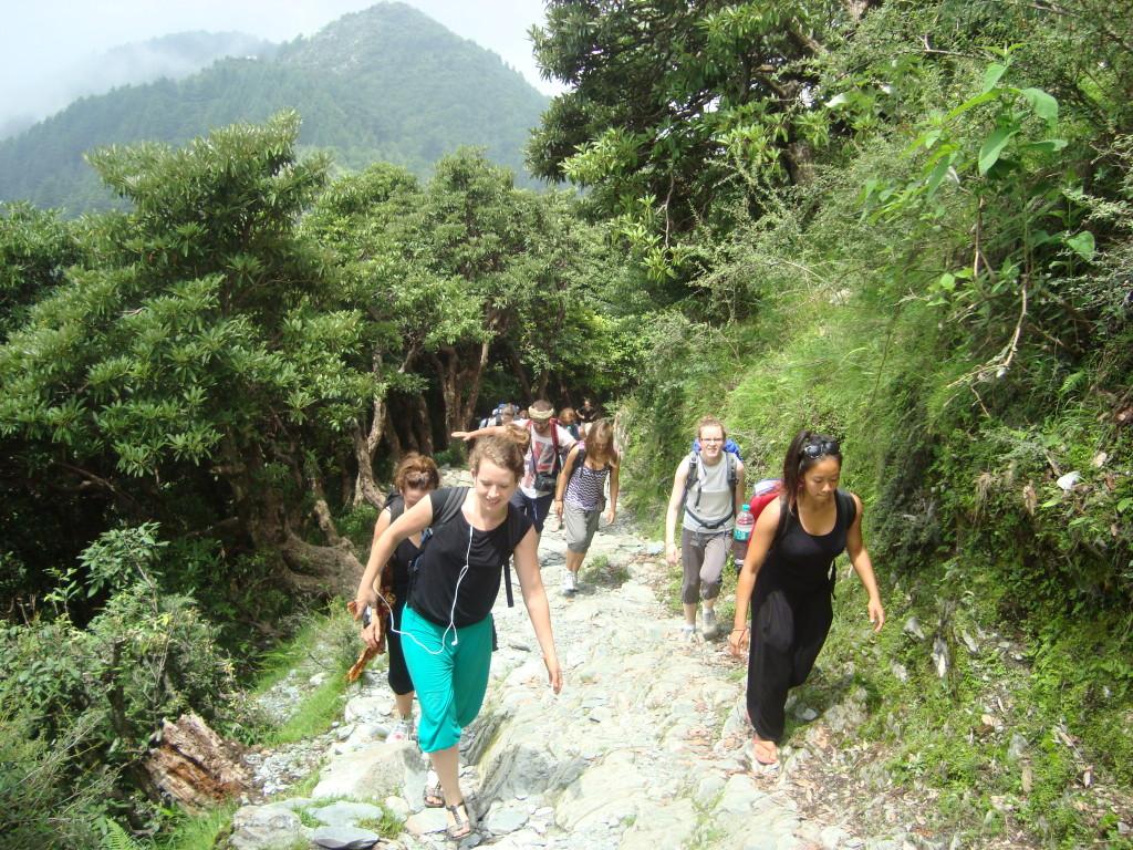Trekking in Palampur