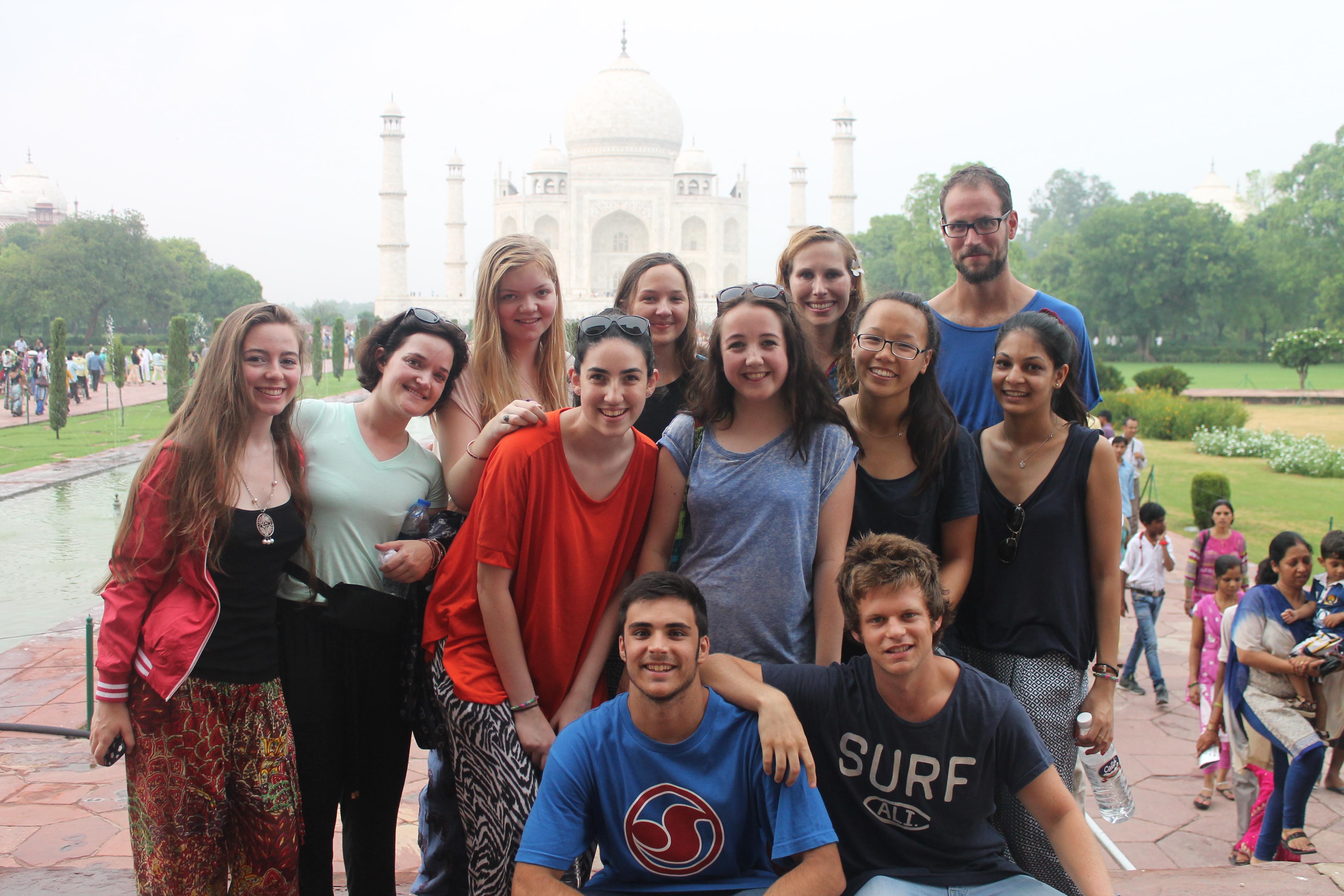 Teen Volunteer in India