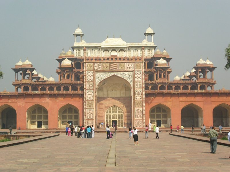 sikandra_tomb,Agra