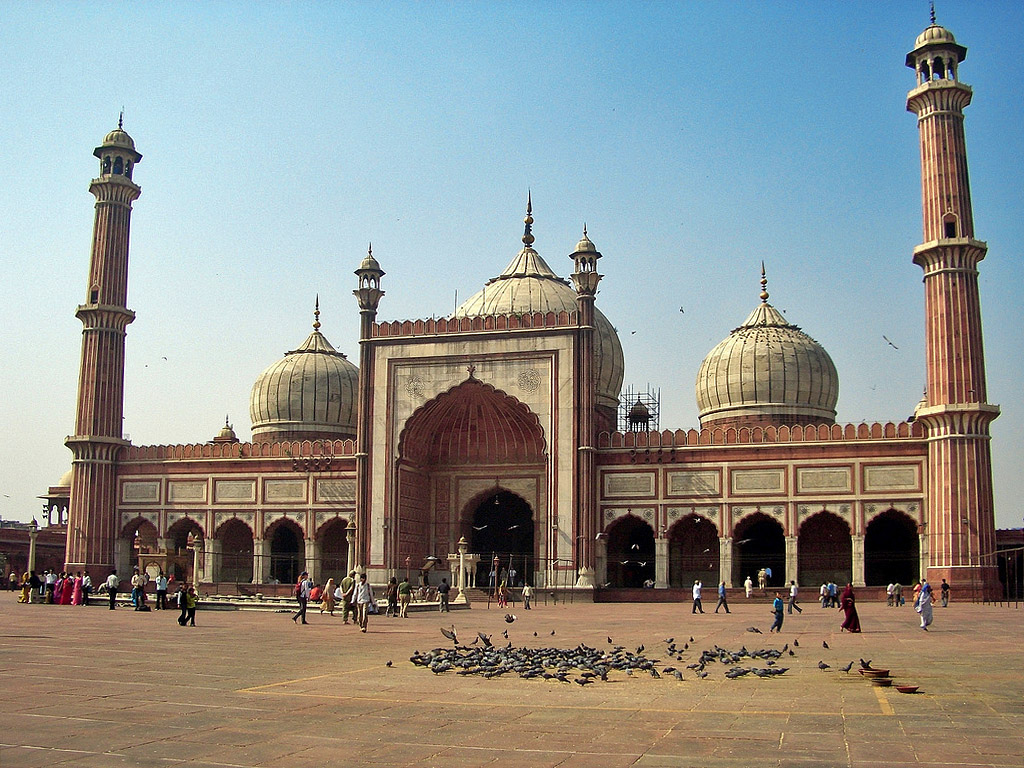 JamaMasjid, Delhi India