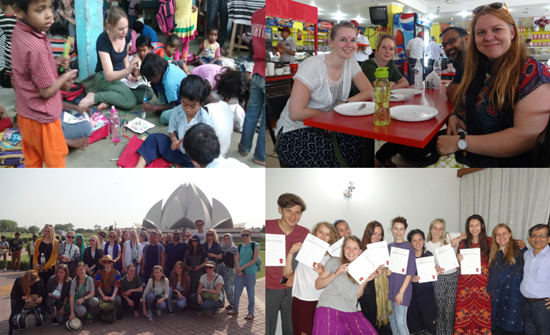 Volunteering-India-Student-group