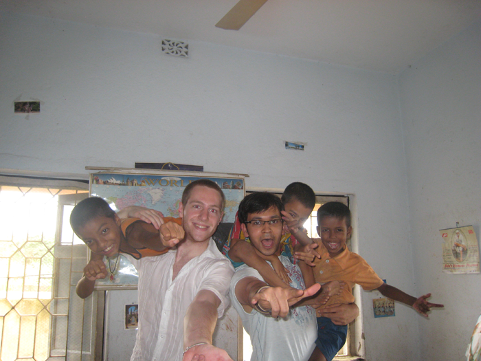 working-at-an-orphanage-in-Delhi-India