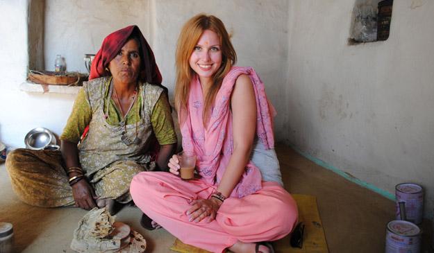Wear indian dress