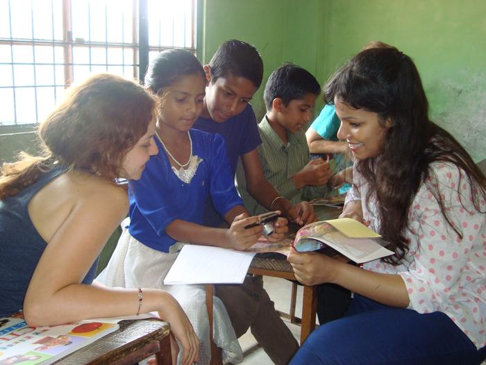 teaching-volunteer-work-in-India