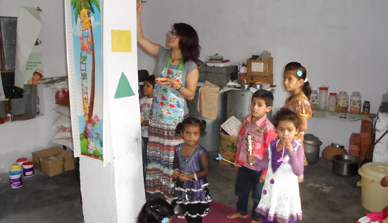 Volunteering in Palampur India
