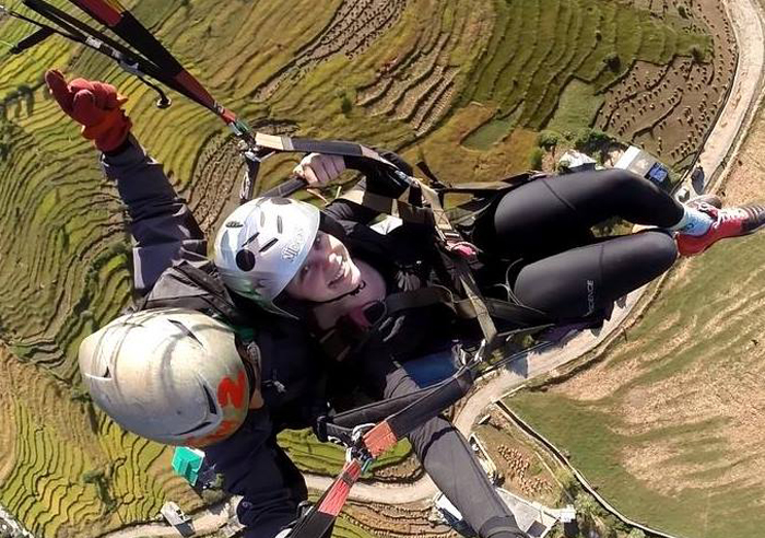 paragliding in Palampur