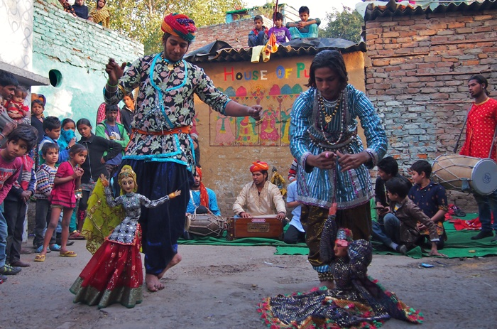 kathputli artist in delhi