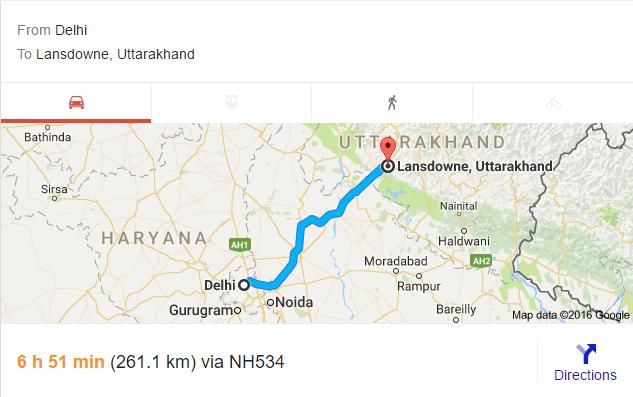 road trips from delhi
