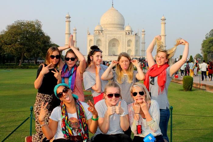 summer volunteering in India