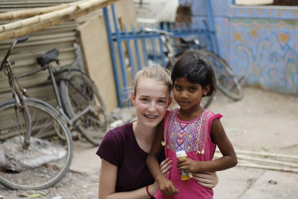 childcare volunteering in India Delhi