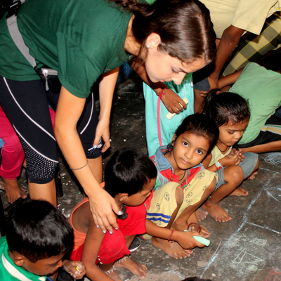 Volunteer In India orphanage