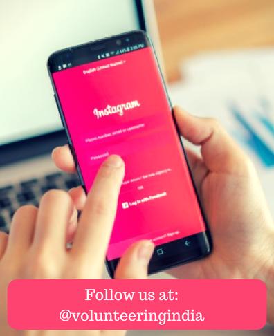 Join Volunteering India on Instagram
