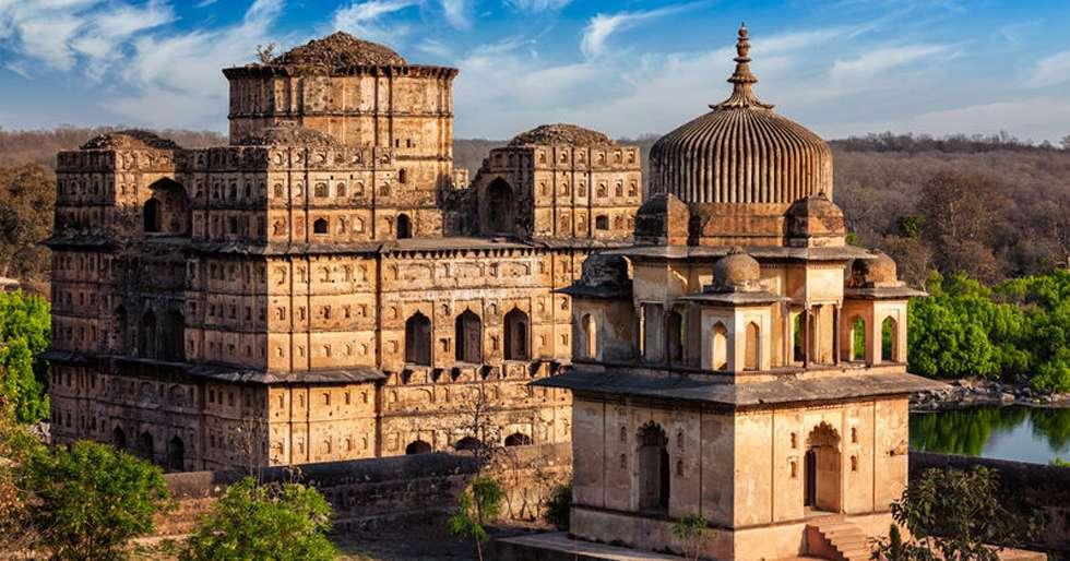 Orchha Fort Complex, Madhya Pradesh